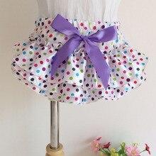 Шорты для детей от 0 до 2 лет летний цветной галстук-бабочка в крапинку, сатиновые трусики на подгузник для новорожденных