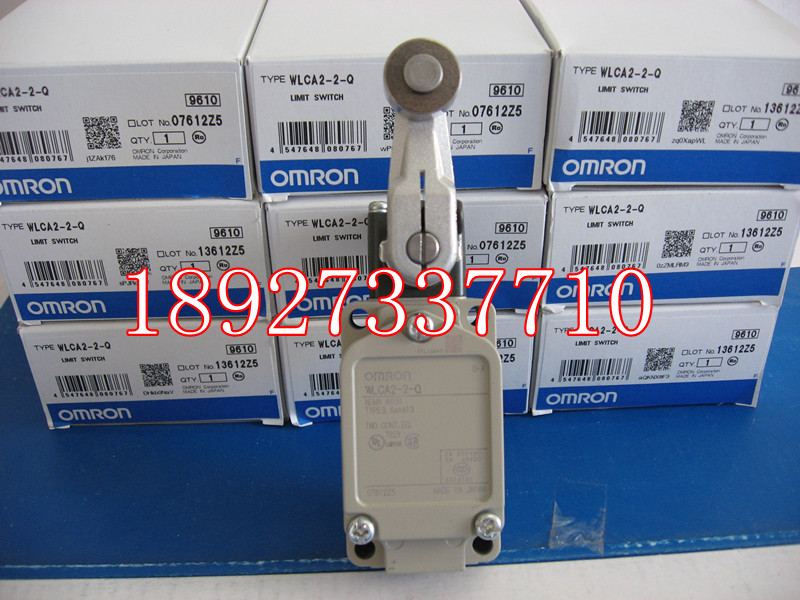 [ZOB] Supply of new imported omron Omron limit switch WLCA2-2-Q  --2PCS/LOT [zob] supply of new original omron omron photoelectric switch e3z t61a 2m factory outlets 2pcs lot