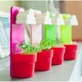 Novo Mini criativo de decoração de flor plantador nutritivo de sementes varanda decoração DIY