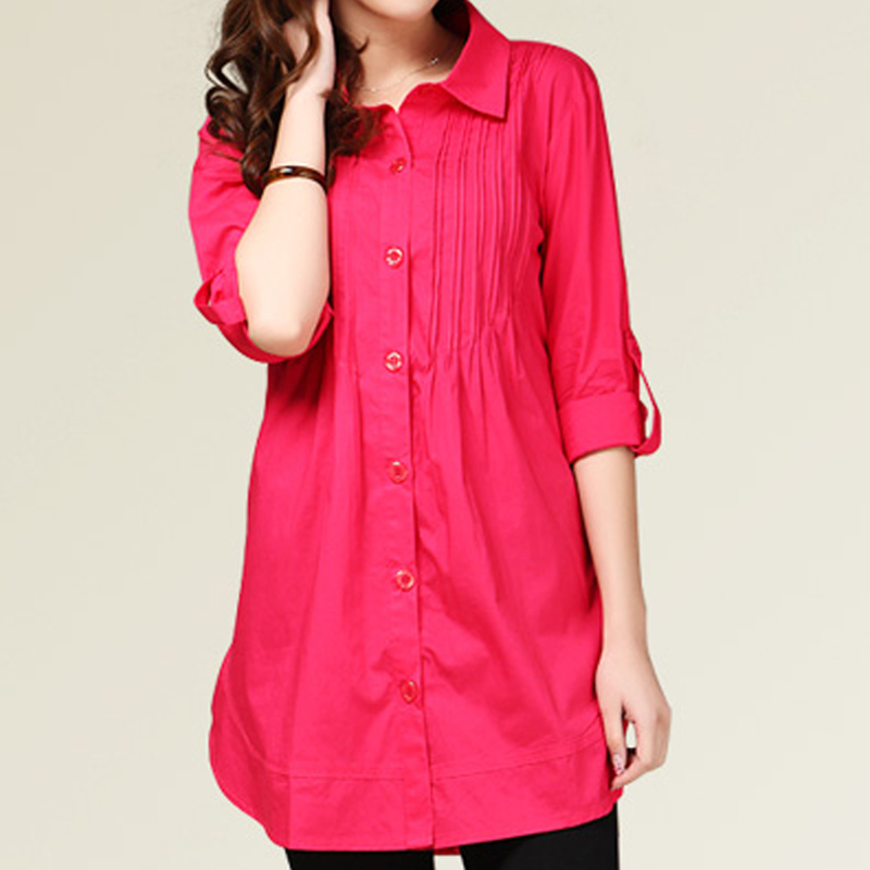 Korean version of Women Autumn long-sleeved shirt