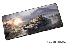 World of tanks mouse pad 70x30cm pad to mouse Popular computer mousepad gaming mousepad gamer to locrkand laptop mouse mat