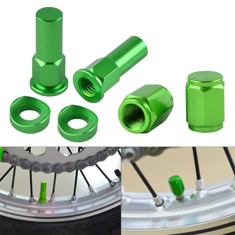 Запорные гайки для велосипеда-внедорожника, болты, прокладка, колпачок клапана мотокросса для Kawasaki KX125 KX250 KX450 KX250F KX450F KLX KDL KX 250 KLX250