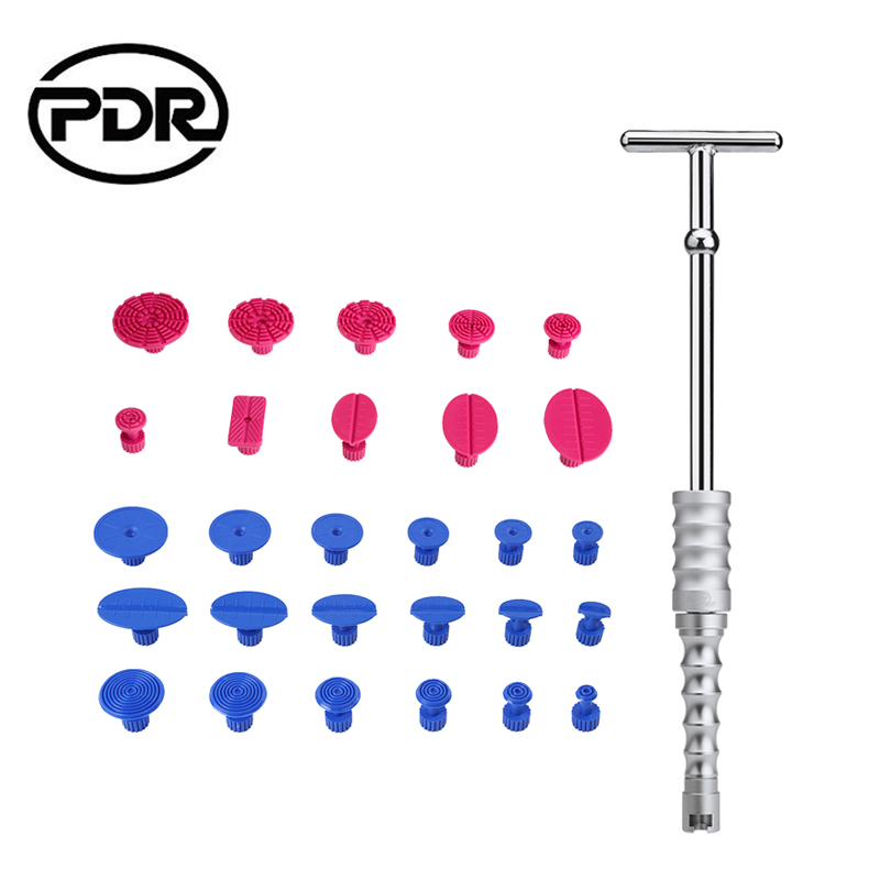 PDR Tools Kit Paintless Dent Repair Tools Dent Puller Slide Hammer Suction Cups Suckers Glue Tabs Hand Tool Sets Ferramentas watch repair tool kit watch tools 9 5cm 4 5cm pins puller watchmaker tools watch hand remover tool parts accessories