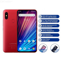 UMIDIGI F1 Play 48MP+8MP+16MP 5150mAh Mobile phone Android 9.0 6GB RAM 64GB ROM 6.3 FHD Global Version Smartphone Dual 4G
