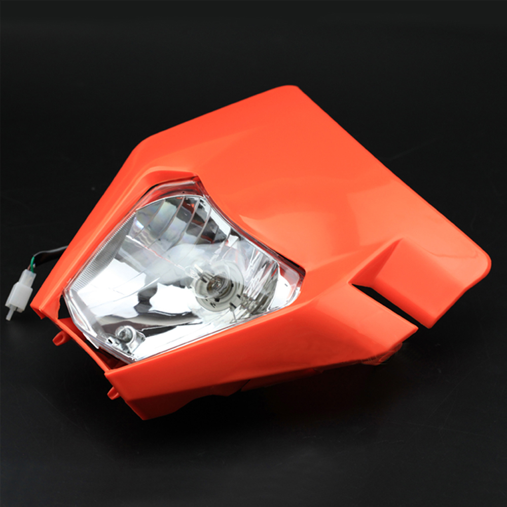 For KTM XC-W//XCF-W 125 150 200 250 300 350 450 Headlight Mask Headlamp Assembly