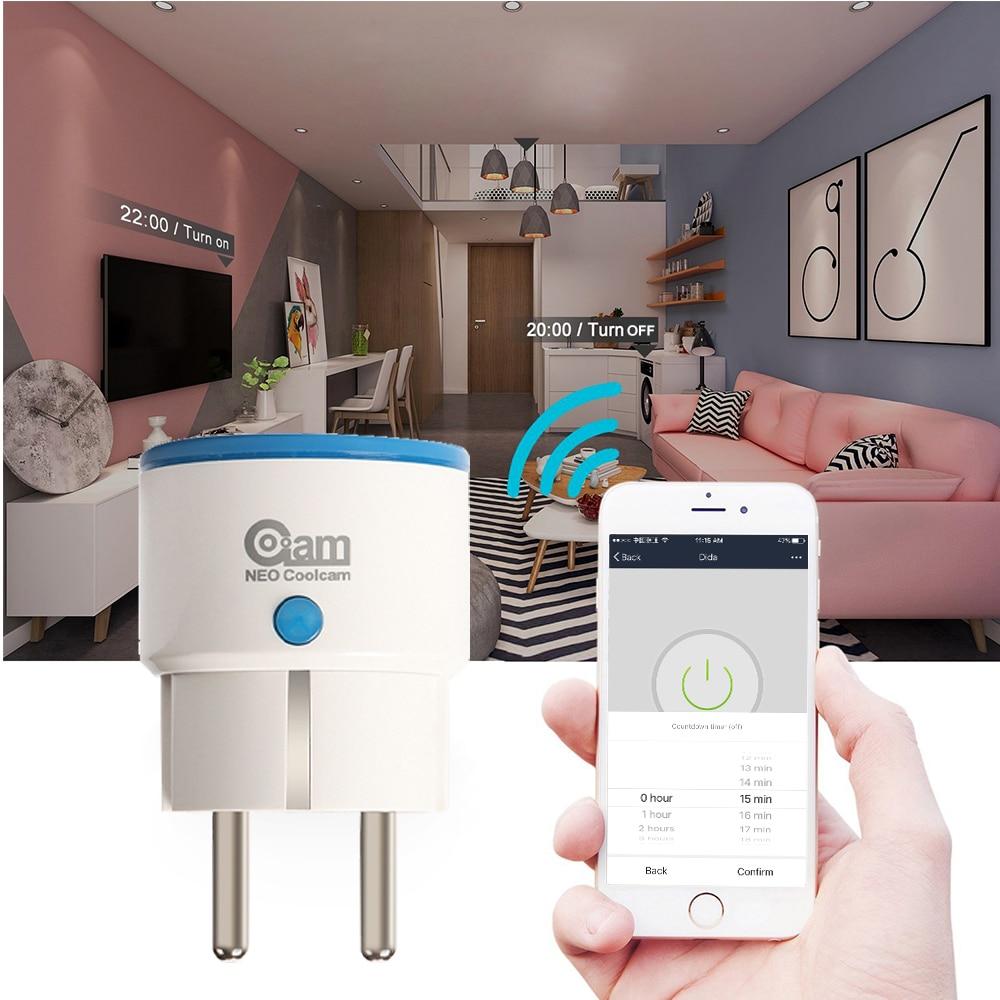 NEO COOLCAM NAS-WR01ZE Z-wave Plus Smart Power Plug EU Socket Smart Home Automation Alarm System Home