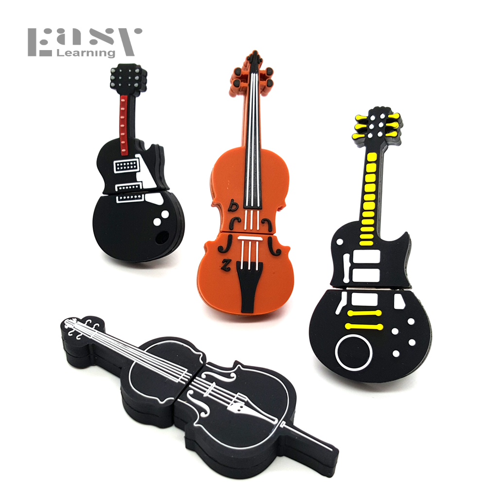 Fácil Aprendizaje Instrumento Musical de Dibujos Animados USB Flash Drive USB 2.