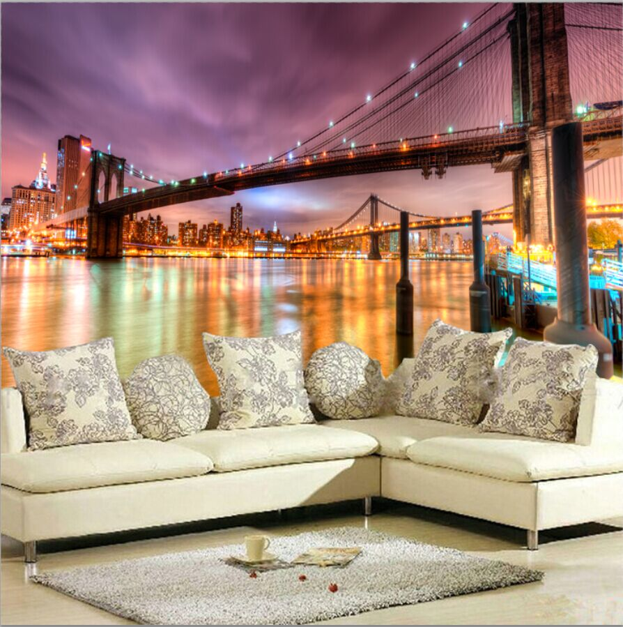 Living Room Wall Murals online get cheap city wall murals -aliexpress | alibaba group