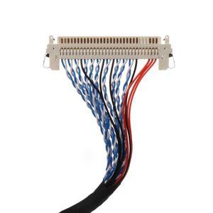 Image 5 - Ganchos Cable LVDS D8 FIX 30P D8 FIX 30 pasadores dobles 2CH 8 bit 1,0mm Pitch