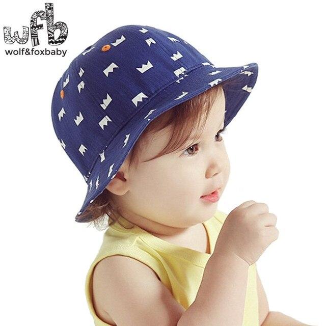 13c9b55bee8d Retail 50CM round sun cap printing Crown Cowboy hat baby children ...