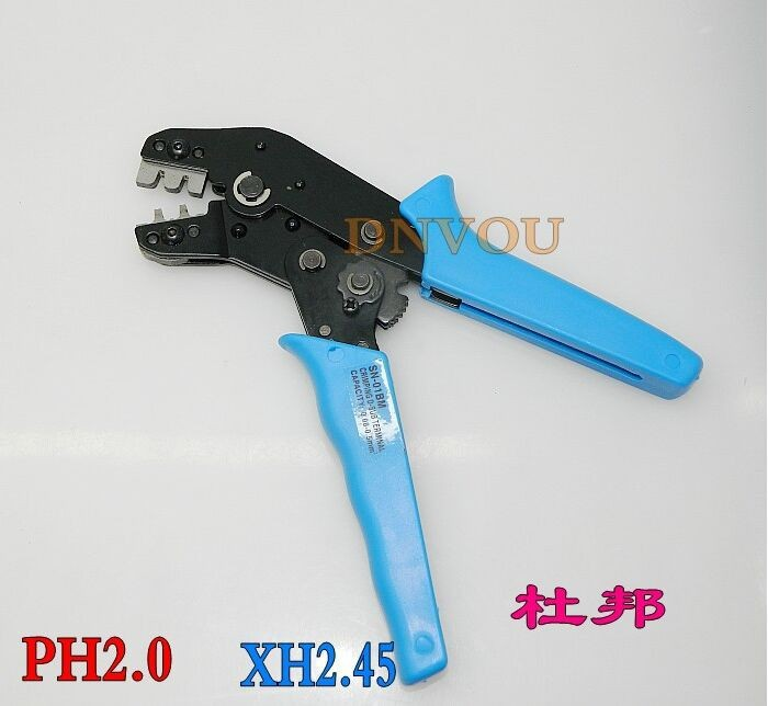 SN-01BM XH2.54 SM plug terminal spring clamp terminals Crimping Tool Crimping pliers For D-SUB Terminals Sq.mm 0.08-0.5 AWG28-22 crimping tool crimping pliers for dupont xh2 54 kf2510 sm 2 54mm 3 96mm plug terminals awg28 22