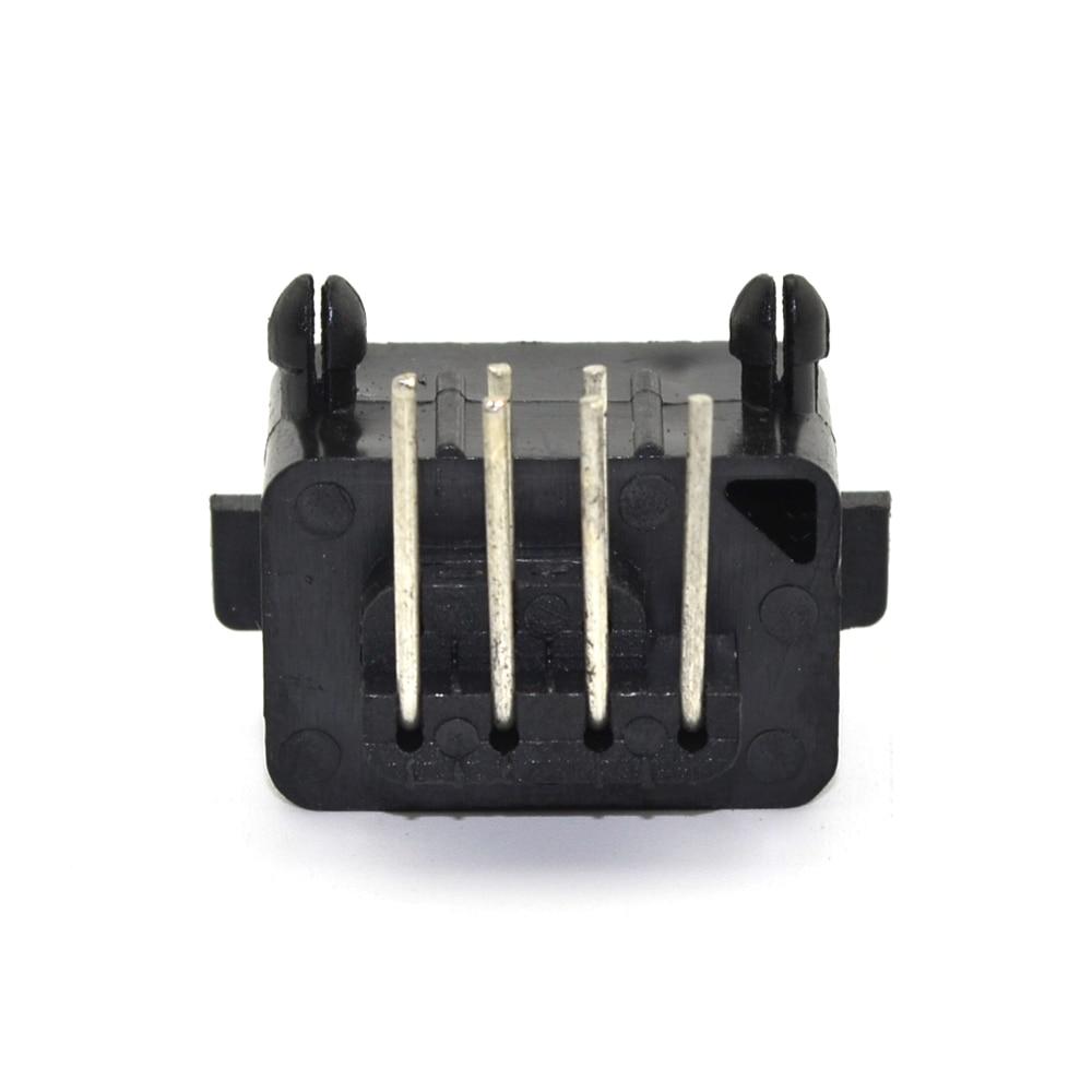 10 pezzi molto Pezzi di ricambio 90 gradi 7 pin femmina connettore - Giochi e accessori - Fotografia 3