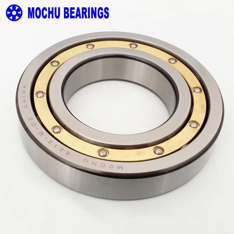 1pcs bearing 6213 6213-M-C3 65x120x23 MOCHU Solid brass cage Deep groove ball bearings Single row High Quality bearings 6007rs 35mm x 62mm x 14mm deep groove single row sealed rolling bearing