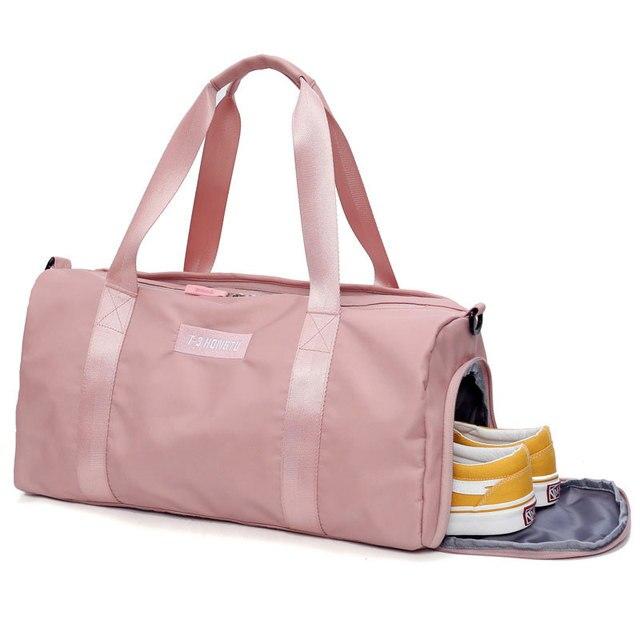 dbd6e35958cc Female Gym Bag women Fitness Yoga Sports Bag Handbags Bolsa Training Travel  Men Lady s Big School