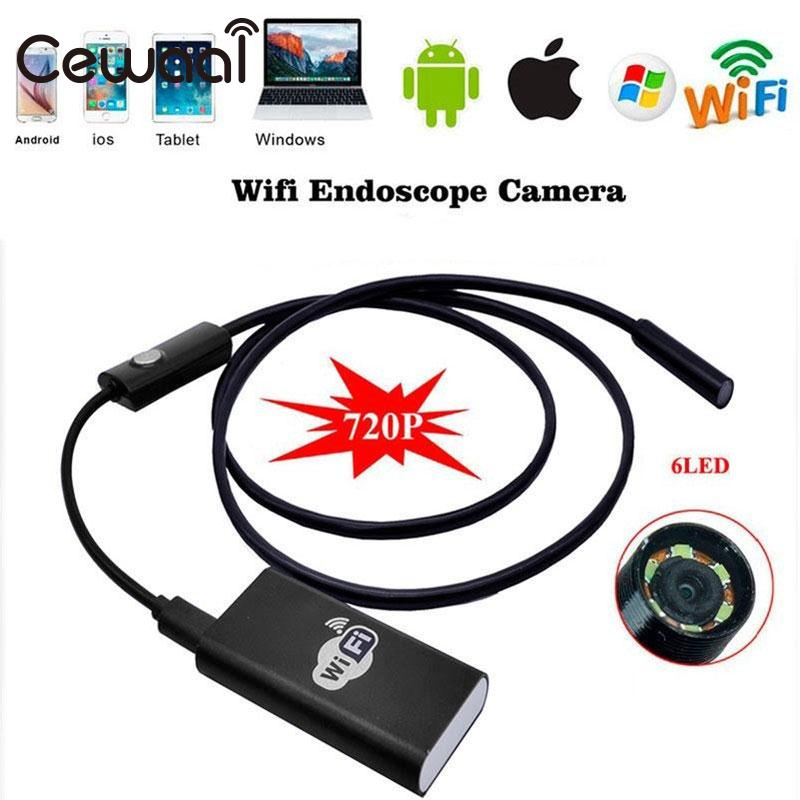 Aliexpress com : Buy 2m 5 5mm Waterproof IP67 WIFI Endoscope Borescope  Camera For Android IOS from Reliable Mini Camcorders suppliers on  Shop4406105