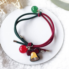 Cute Cartoon Christmas Children's Hair Ring