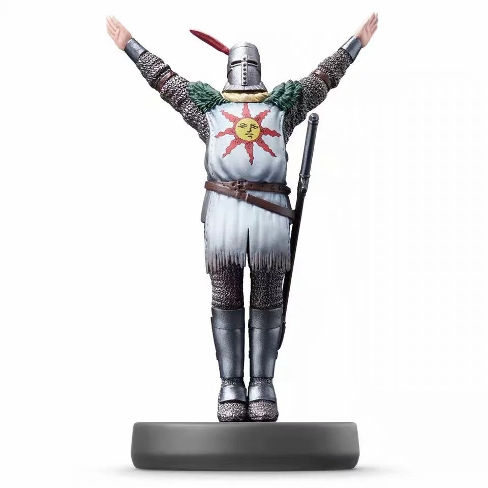 2019 New Dark Souls Praise Sun Amiibo Solaire Of Astora Pvc Action Figure Scene Model Collection Toy Fragrant Aroma Action & Toy Figures