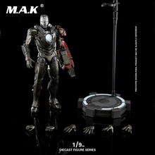 1:9th Diecast Figure Series DFS053 1/9 Scale Iron Man MK29 Mark29 Collectible Figure Alloy+ABS for Fans Holiday Gift 1 9 diecast figure series dfs023 iron man mark1 collectible dolls figures collections