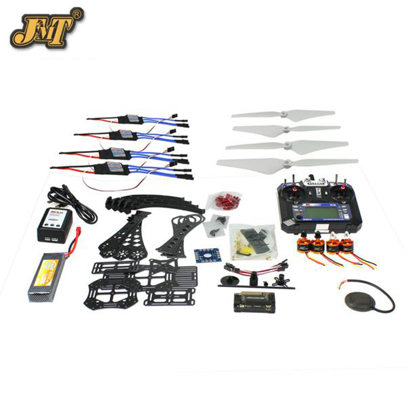 все цены на JMT DIY RC Drone Quadrocopter Full Set RTF X4M380L Frame Kit APM 2.8 GPS TX онлайн