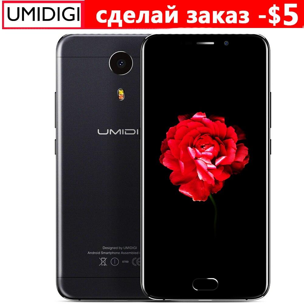 """Цена за Umidigi Плюс E Helio P20 6.0 6 ГБ RAM 64 Г ROM Телефон MTK6757 2.3 ГГц Octa Ядро 5.5 """"FHD Экран Android 4000 мАч 4 Г LTE смартфон"""