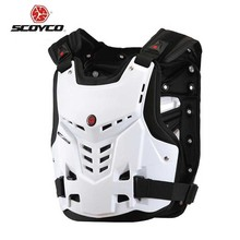 SCOYCO motorcycle armor AM05 motorbike armors Chest Back support Riding protective device made of PP size M L XL