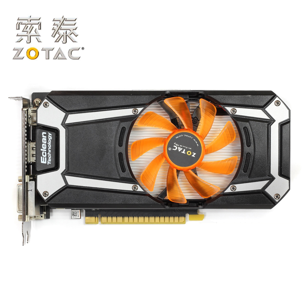 Original ZOTAC GeForce GTX 750Ti-1GD5 Graphics Card Thunder HA For NVIDIA GTX750 GT700 1GD5 1G Video Cards 6000MHz GDDR5 Used