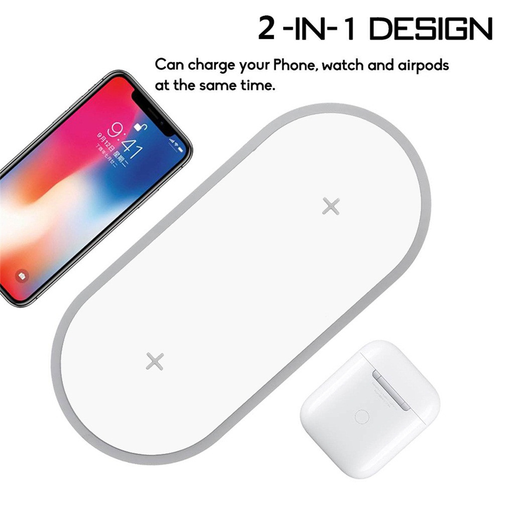 Easy Portability 3-in-1 Functionality Nomodo Qi Fast Wireless Charging Mouse Pad with Digital Notepad