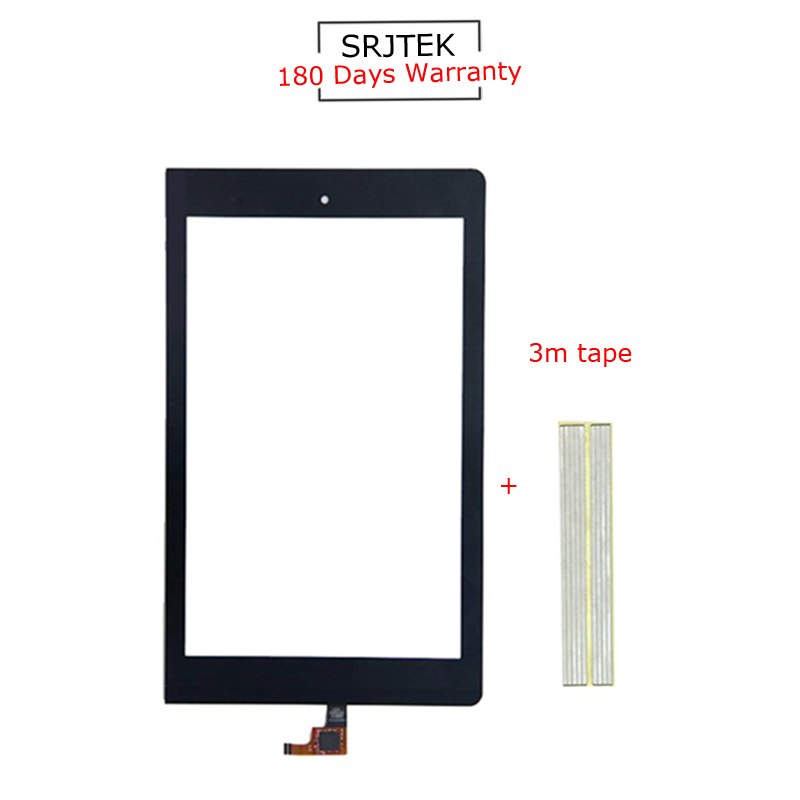 For New Lenovo Yoga Tablet 8 B6000 Replacement Touch Screen Digitizer Glass 8 Inch Black
