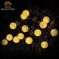 Solar String Lights Outdoor 20 LED fairy Lantern Ball Christmas Globle Lights for Garden Path Party