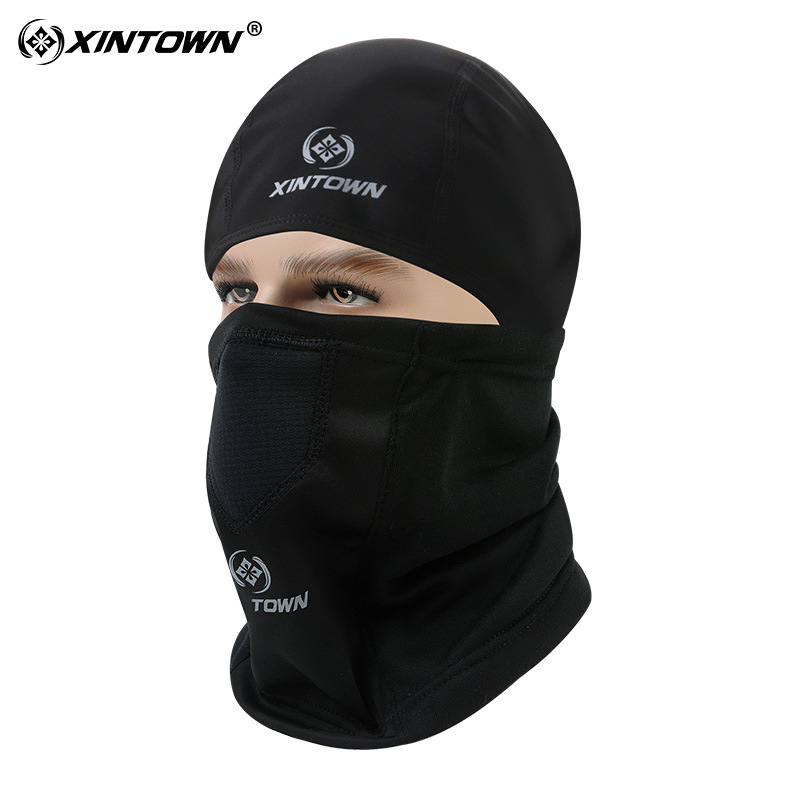 XINTOWN Bicycle Face Mask Winter Warm Windbreaker Hat Collar Cycling Outdoor Sports Equipment Masks Full Protective Gear Scarf