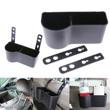 Adjustable Car Seat Back Mounted Hanger Convenient Storage Box