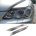 Reiz Mark X Carbon Fiber Car Headlight Eyelid Eyebrows Cover Trim Sticker for Toyota Reiz 2004-2009