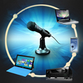 Hot Sale Wired Stereo Sound Studio Mics Microphones Condenser Microphone Karaoke Microfone with Stand Holder Clip for PC Laptop