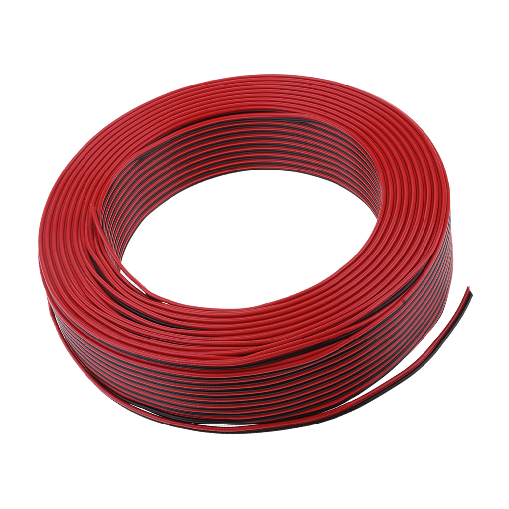 Car Home Outdoor Audio Speaker Wire 03mm Square Pvc Cable 100meter Wiring In Wires Cables From Lights Lighting On Alibaba Group