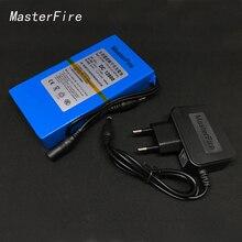 MasterFire New DC 12800 12V 8000MAH Li-ion Super Rechargeable Battery Backup Li-ion Batteries Pack For CCTV Camera стоимость