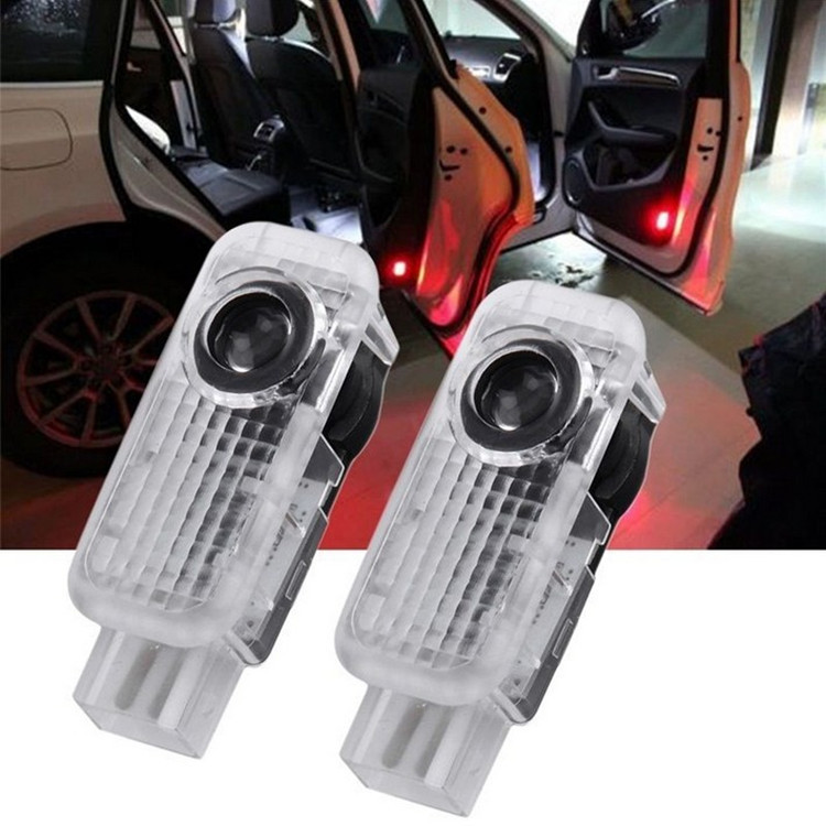 Car Styling New Laser <font><b>LED</b></font> Door Courtesy projector Shadow Light For AUDI A3 <font><b>A4</b></font> B5 B6 B7 <font><b>B8</b></font> A6 C5 C6 Q5 A5 TT Q7 A4L 80 A1 A7