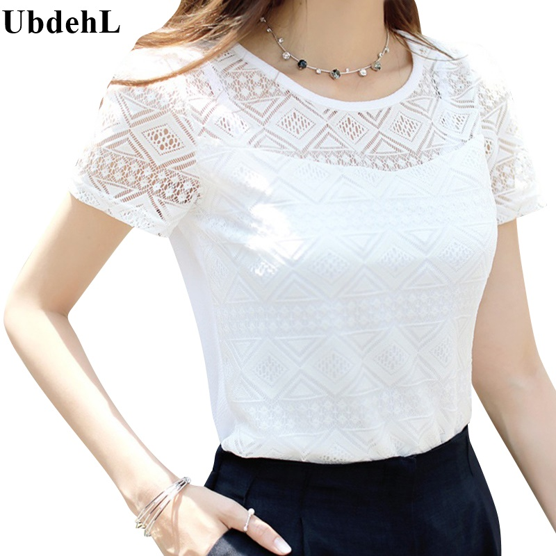 Ubdehl brand new women tops lace chiffon blouse shirt for Top dress shirt brands
