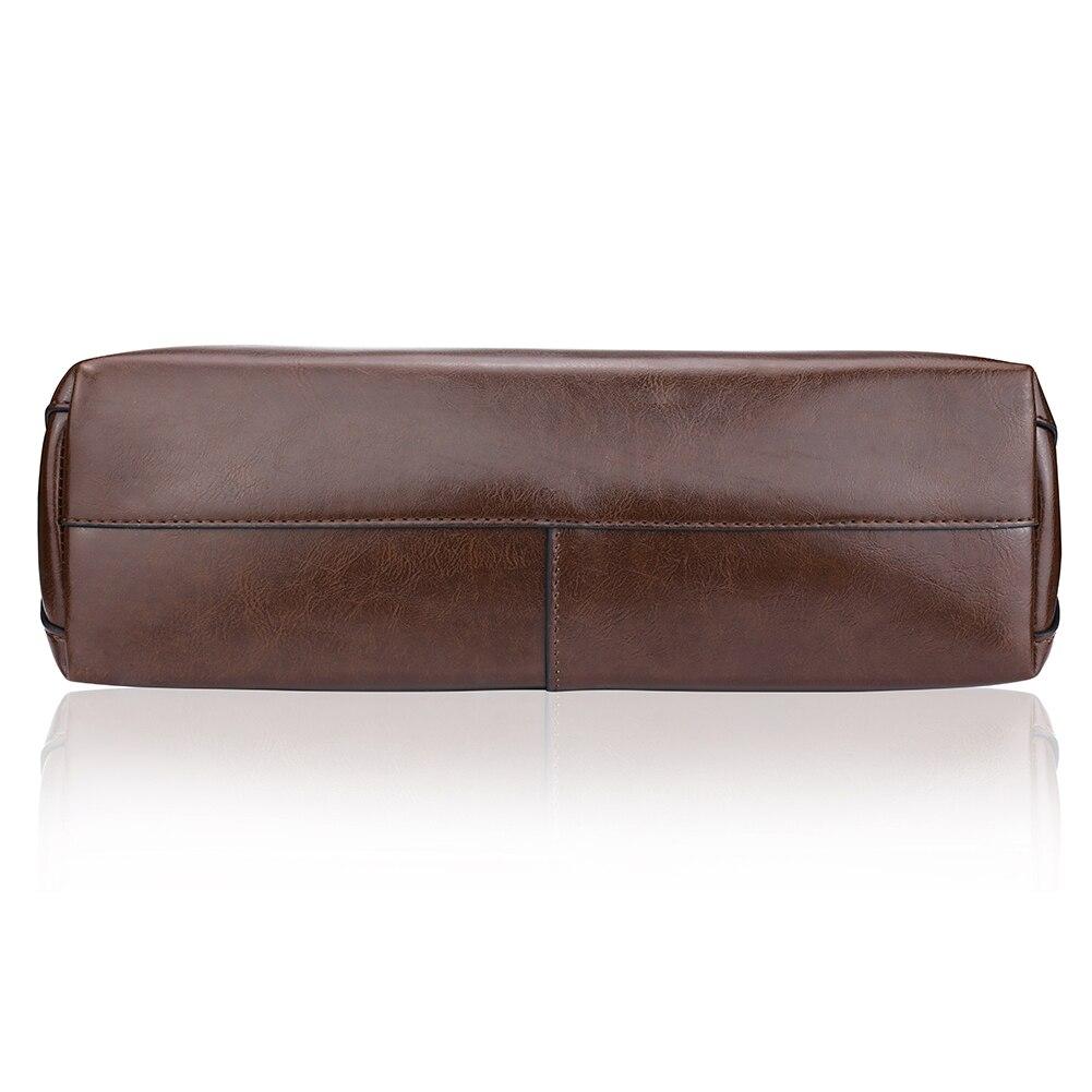 tour stylish office los. Perfect Tour LOSLANDIFEN Women Fashion Simple Soild Zipper Handbags Office Leather  Shoulder Bag Ladies Black Stylish Messenger 908in Bags From Luggage  Intended Tour Los H