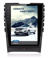 LaiQi 12.1 Quadcore Car DVD player 1024x768 Car Vertical Screen 32GB ROM Stereo GPS Navigation for Ford edge 2013