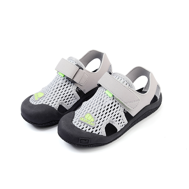 Zaizaile 2018 Summer Children negro zapatos de malla transpirable Boy - Zapatos de niños