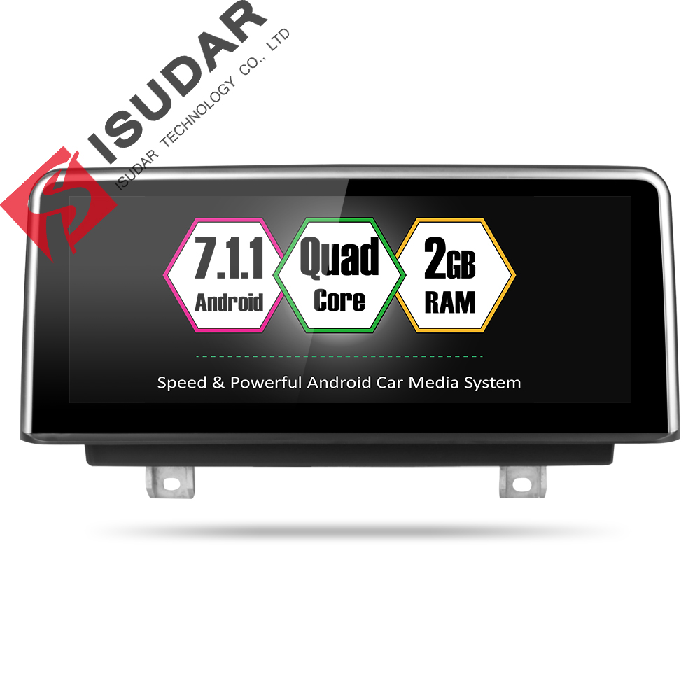 Isudar Car Multimedia player 2 din android 7.1.1 10.25 Inch For BMW 3 Series F30/F31/F34 320 4 Series F32/F33/F36 NBT 32GB RomIsudar Car Multimedia player 2 din android 7.1.1 10.25 Inch For BMW 3 Series F30/F31/F34 320 4 Series F32/F33/F36 NBT 32GB Rom