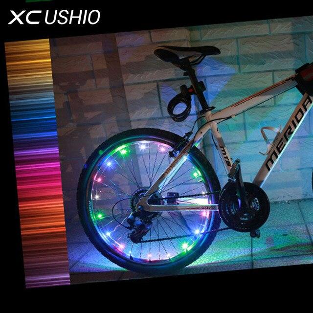 Online-Shop 18 LED Wasserdichte Bunte Mountainbike Led Blitz ...