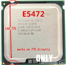 Processador e5472 3.0ghz/12m/1600 funciona em lga 775 mainboard sem necessidade de adaptador para lga775 cpu core 2 quad q9650