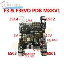 5V 12V BEC PDB F3/F3EVO PDB Power Distribution Board PDB for FPV RC 250 Across Quadcopter