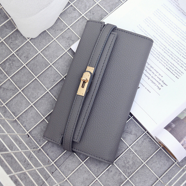 Fashion leather wallet dollar price luxury purses women wallets designer high quality card holder famous brand clutch 3