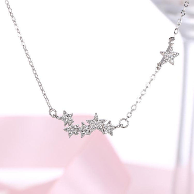 shooting star meteor shower fashion women necklace free allergy