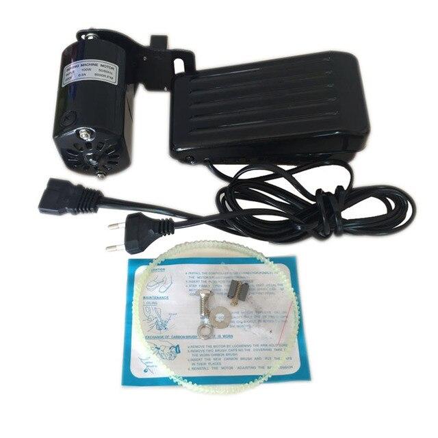 220 V 100 W 0,5 Amps Kupfer Hause Nähmaschine Motor Fuß Pedal Controller Inländischen Handarbeit für Nähen Maschinen Zubehör