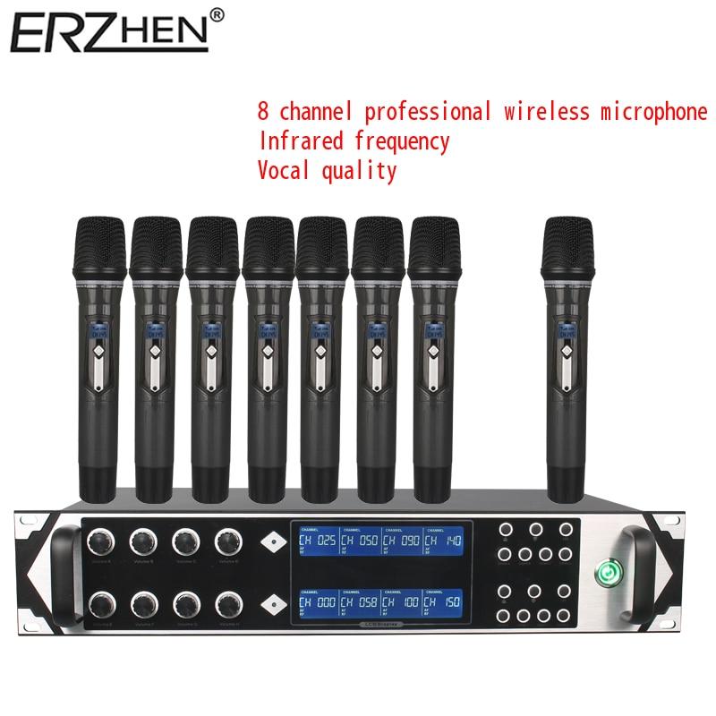9000GTA bežični mikrofonski sustav UHF 8-kanalni dinamički - Prijenosni audio i video - Foto 2