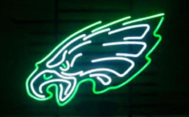 Business Custom NEON SIGN board For Football LED Philadelphia Eagles ...