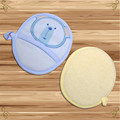Venta caliente Bebé Cepillos De Baño Lindo Oso de Dibujos Animados Esponja Suave Pequeño Baño y Ducha Productos Para Bebe Niñas niños